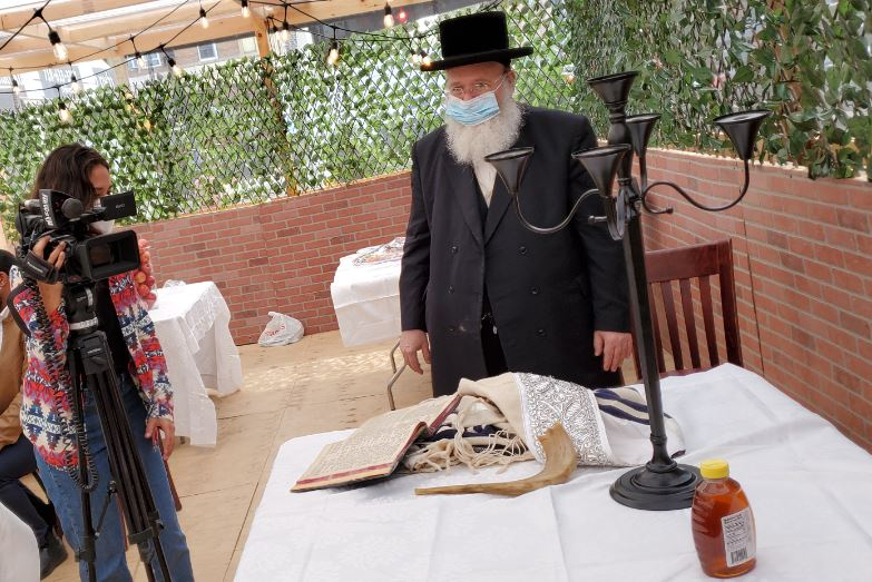 Masbia of Boro Park will open its dining area to celebrate the Rosh Hashanah during covid-19