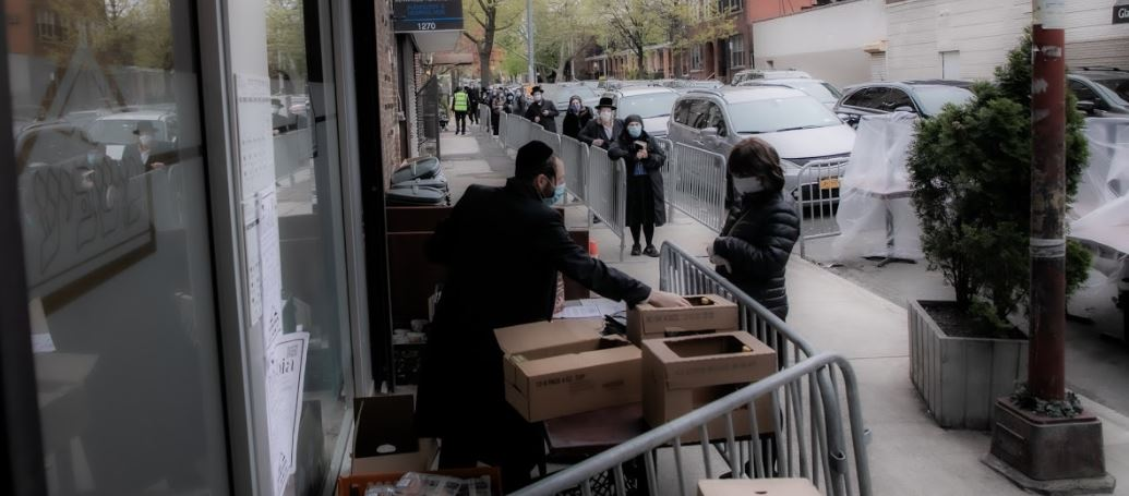 the coronavirus has hit Jewish community in new York city