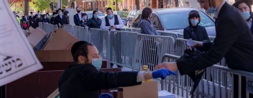 Masbia food emergency charity Kosher jewish during covid-19