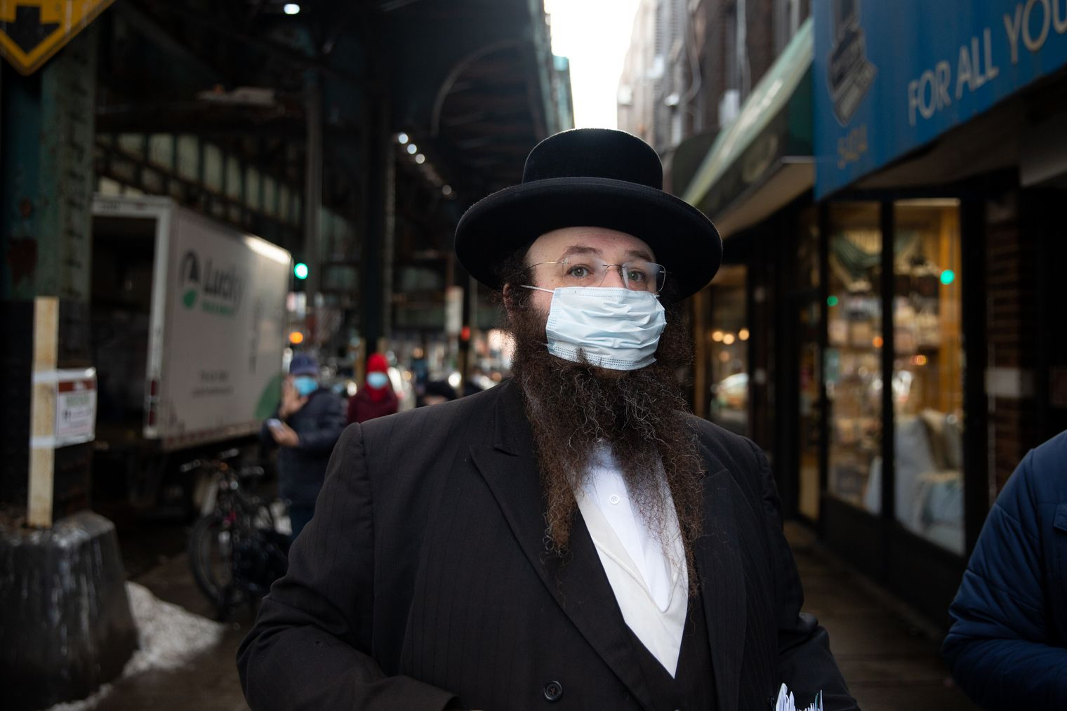 Masbia ED Alexander Rapapor hopes to expands Masbia location to reach out to more people in need due to the pandemic