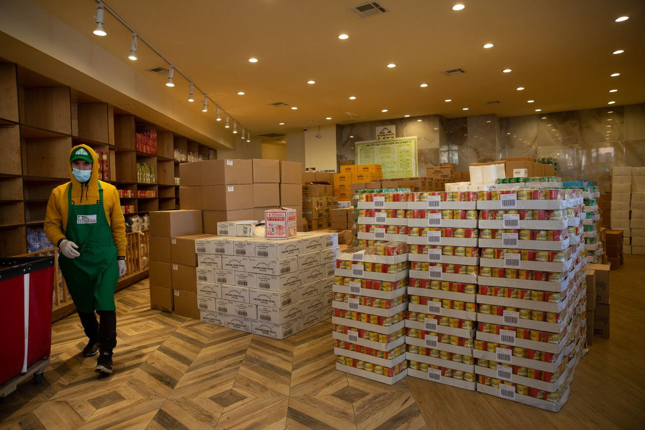 Thanks to private donations Masbia now will have more space to stock more food that will be share with those in need