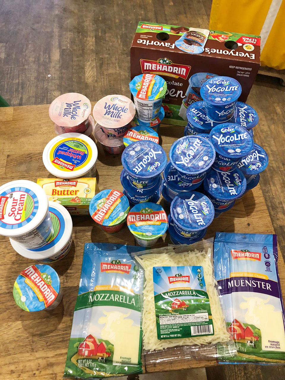 the Masbia Dairy Set for Passover