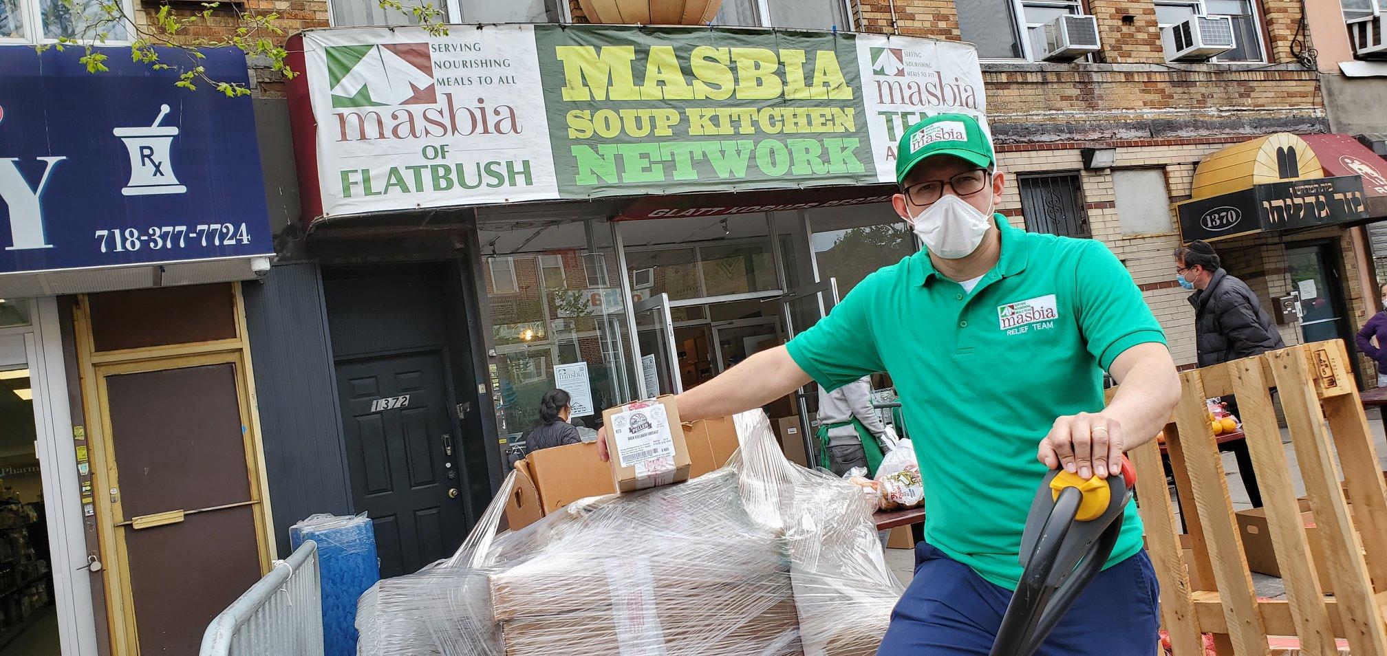 feeding the needy Masbia