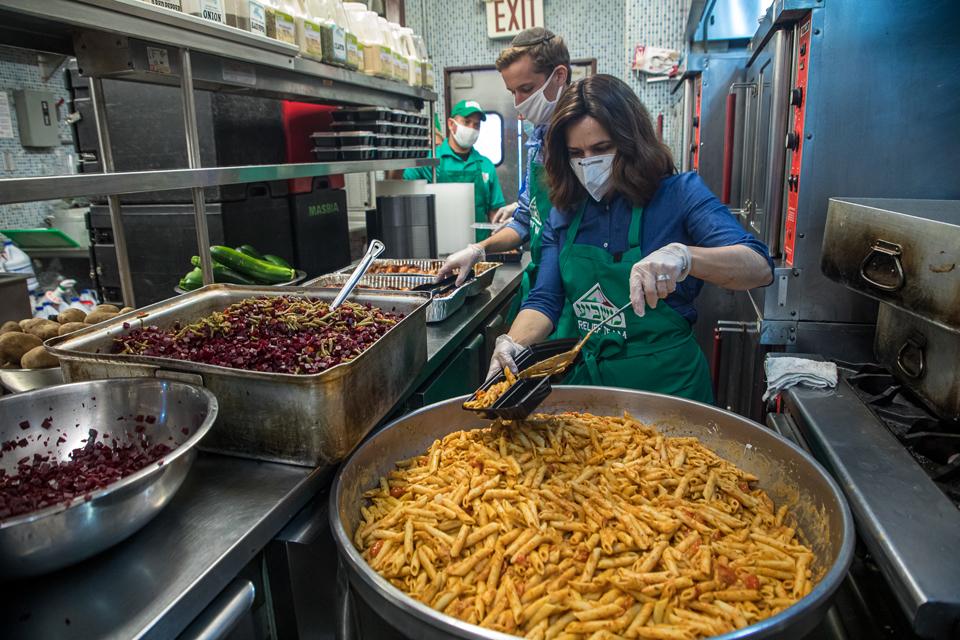 feeding the needy Masbia charity food