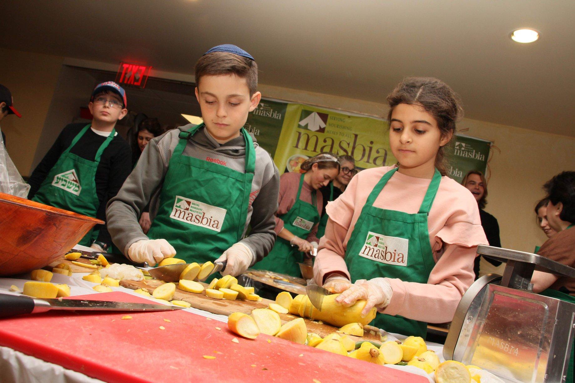 feeding the needy Masbia Soup Kitchen