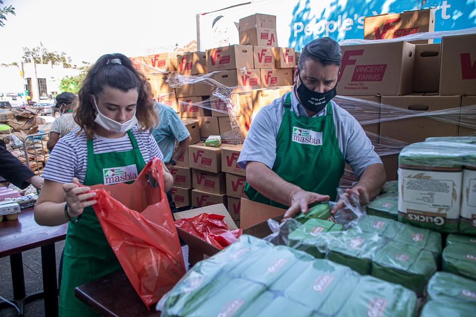 masbia charity food donation