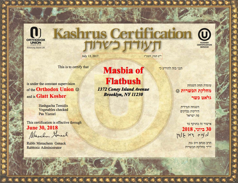 Masbia_of_Flatbush_Kosher_Certificate_OU_Orthodox_Union.jpg