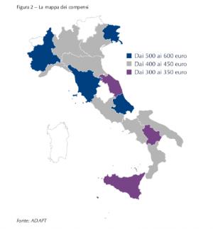 Mappa dei Compensi