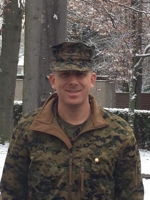 Matt at Germany Drill site 12/17