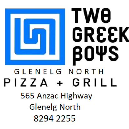 Two Greek Boys Glenelg North