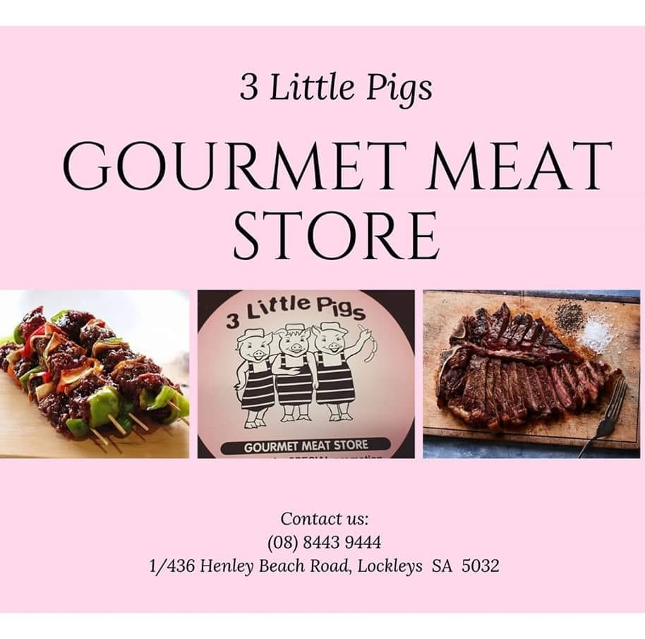 Three Little Pigs Gourmet Meat Store