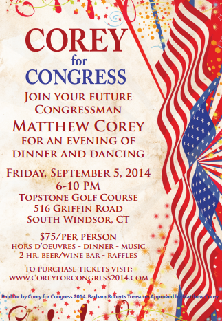 An Evening with Matthew Corey