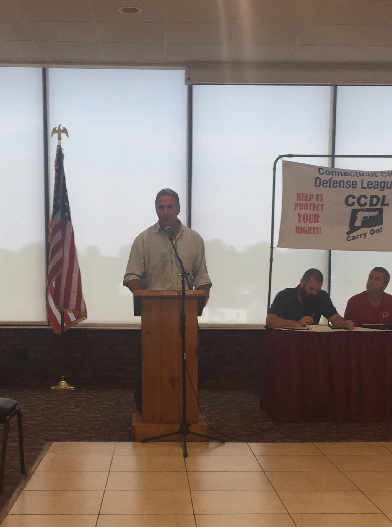 Matthew Corey Speaks to CCDL