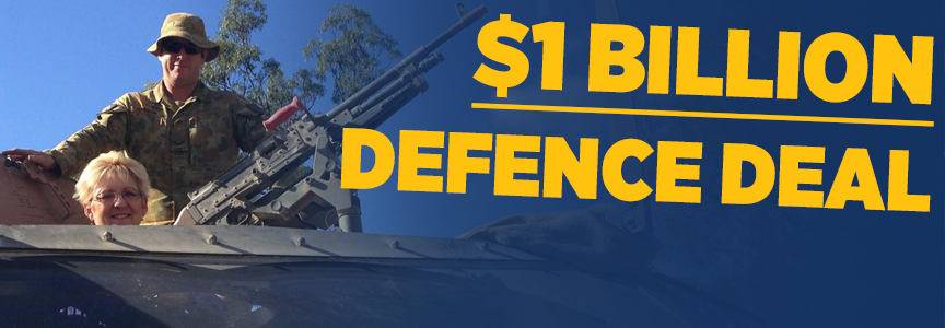 1 Billion Dollar Defence Deal