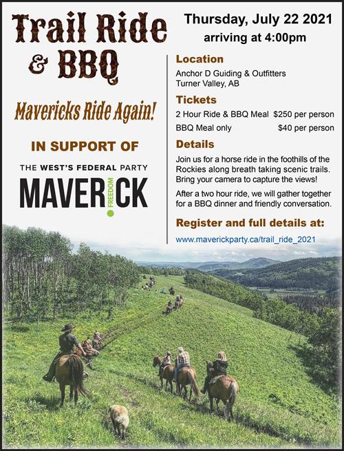 Trail Ride & BBQ 2021 Poster