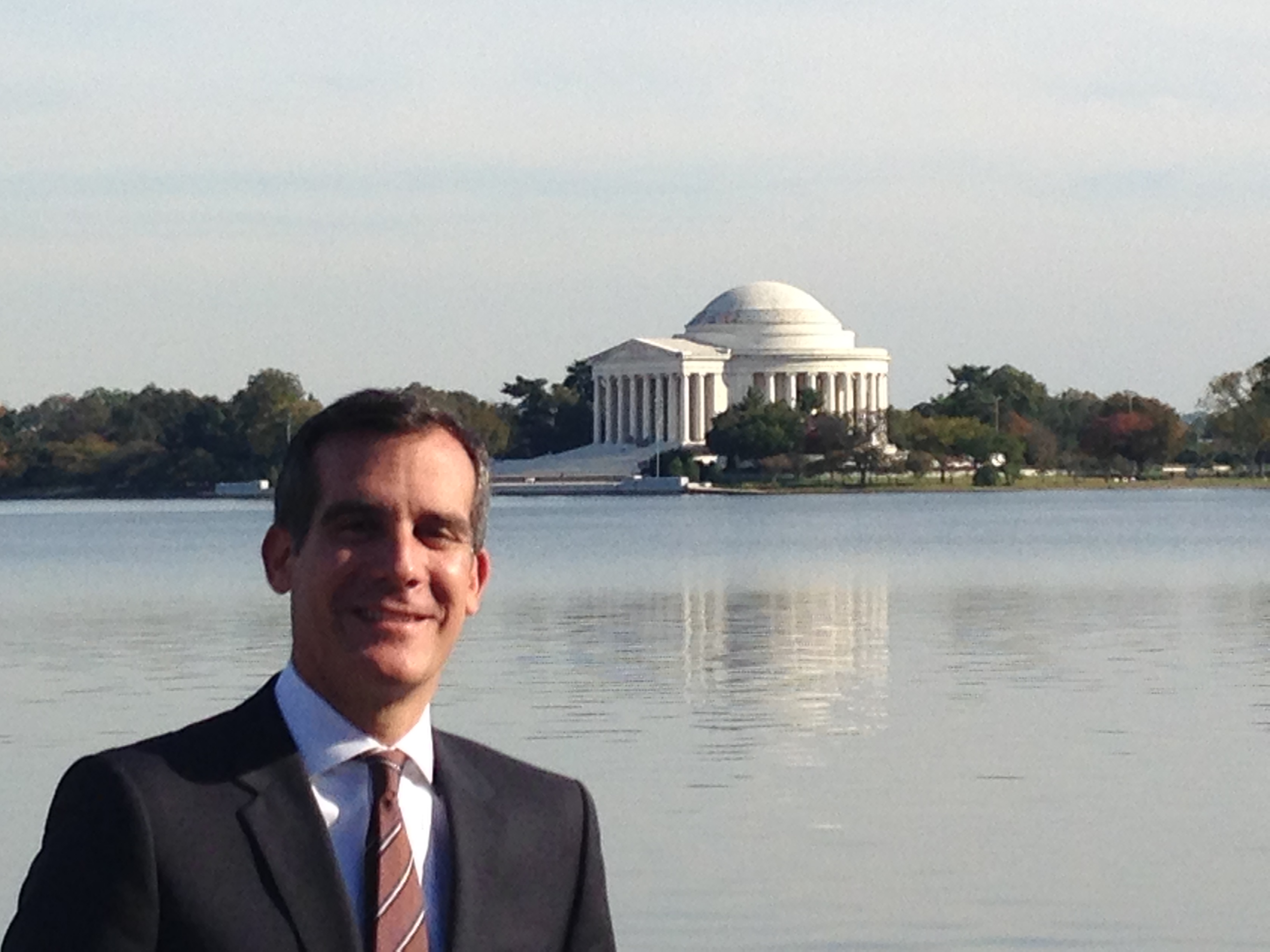 Garcetti in Washington