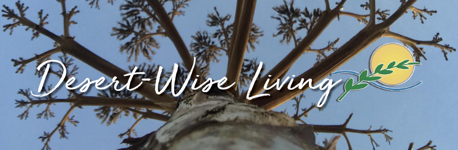 desert wise living banner