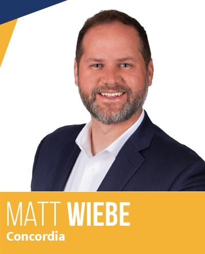 Matt Wiebe - NDP Candidate for  Concordia