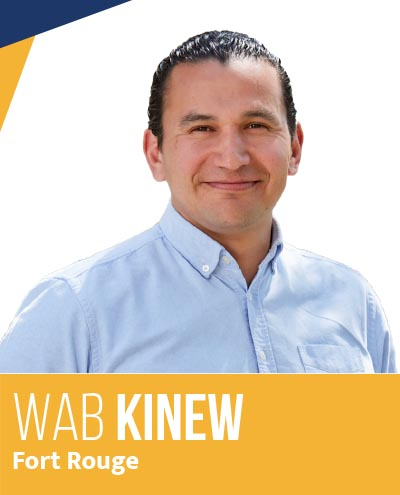 Wab Kinew - Leader of the Manitoba NDP