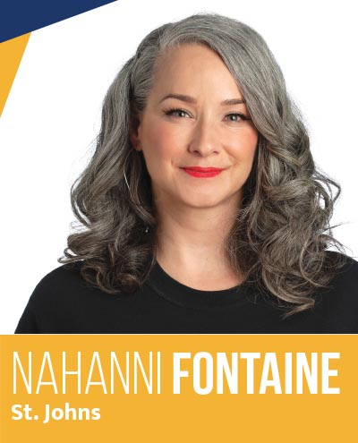 Nahanni Fontaine - NDP Candidate for St. Johns