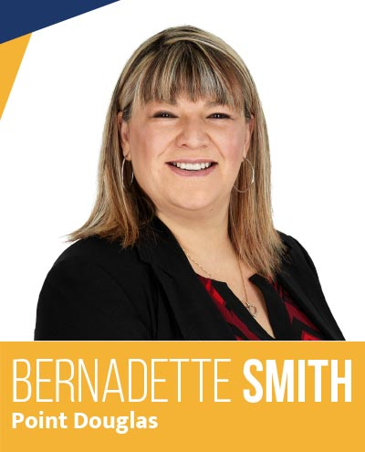 Bernadette Smith - NDP Candidate for Point Douglas