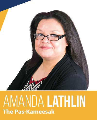 Amanda lathlin - NDP Candidate for The Pas-Kameesak