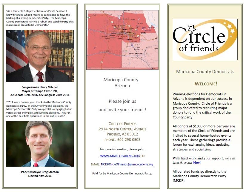 Circle Brochure Page 1