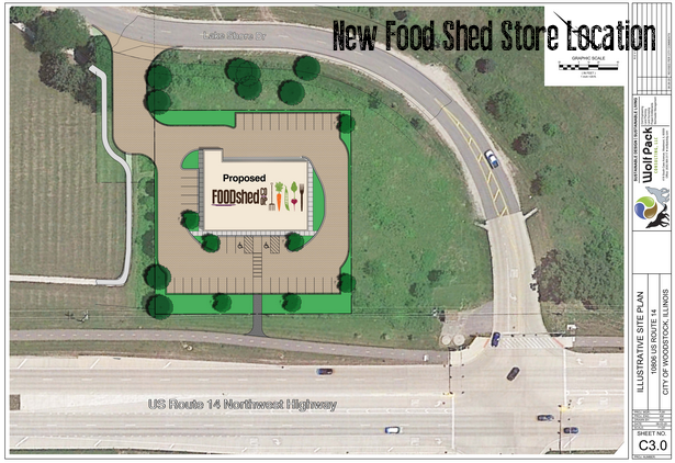 New Food Shed Location!