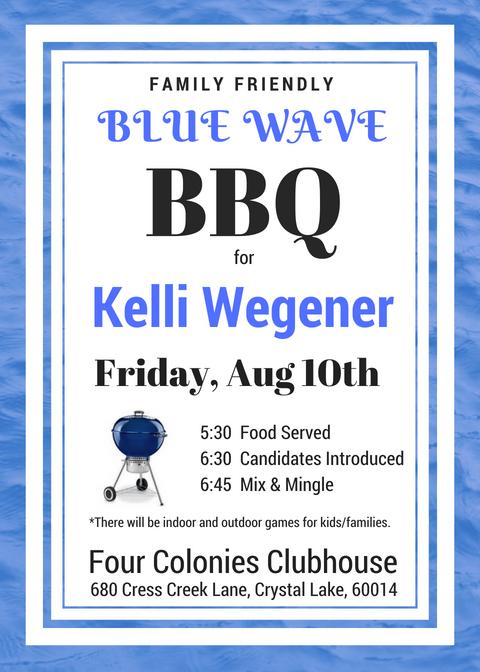 Kelli Wegeners Blue Wave BBQ