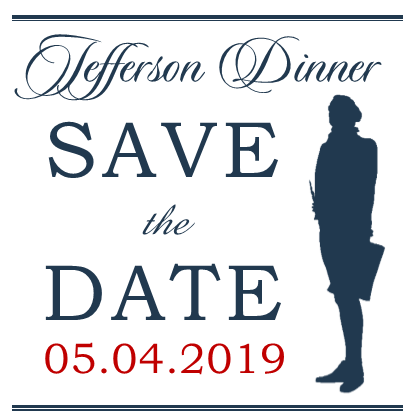 Jefferson Dinner Save the Date