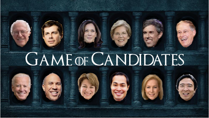 Game of Candidates
