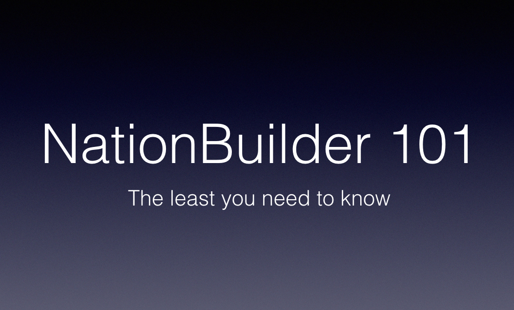 NationBuilder-101