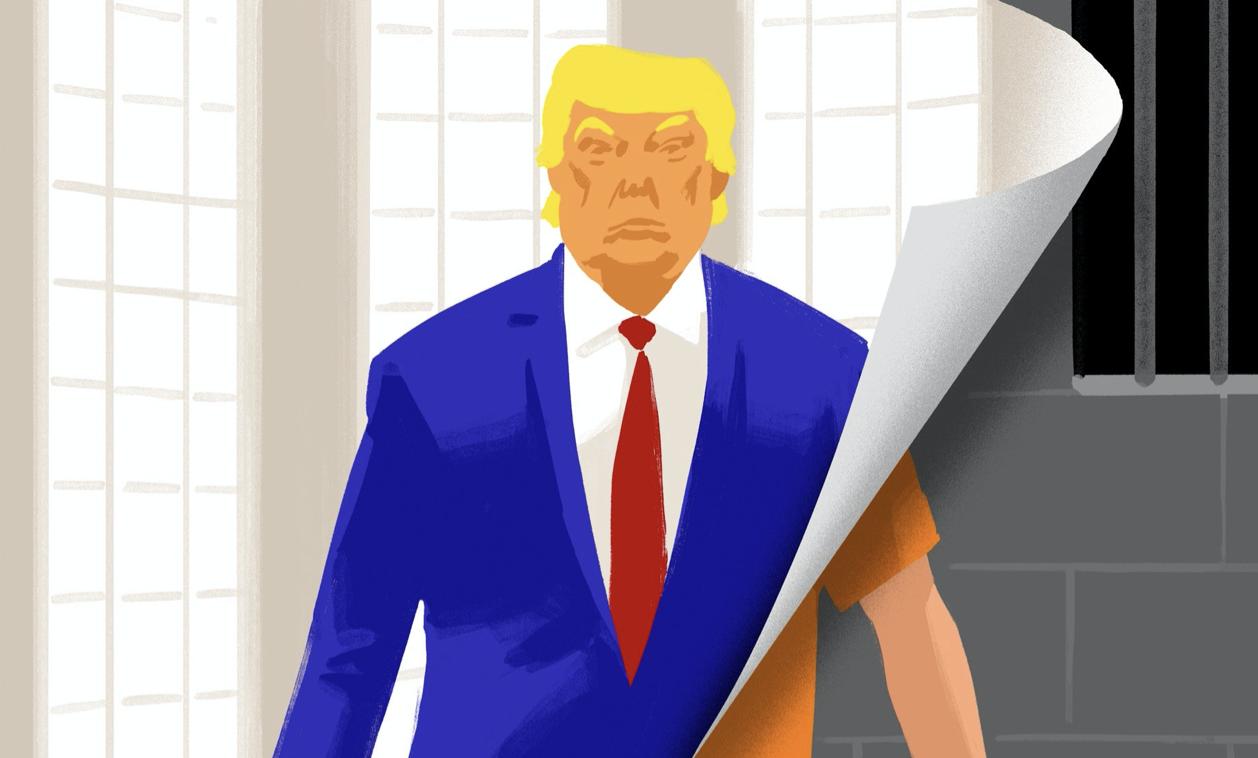 Trump in jail
