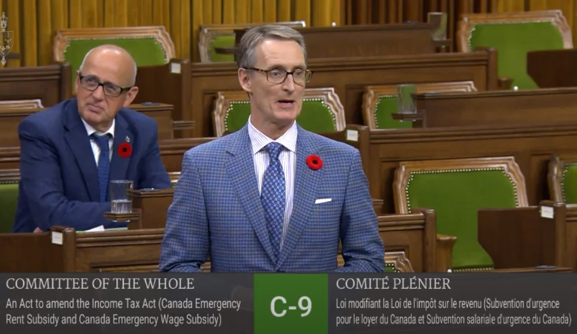 In Parliament: Grilling Chrystia Freeland on Implications of Business Support Programs