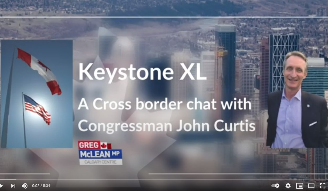 Speaking with Congressman John Curtis about Keystone and the Environment