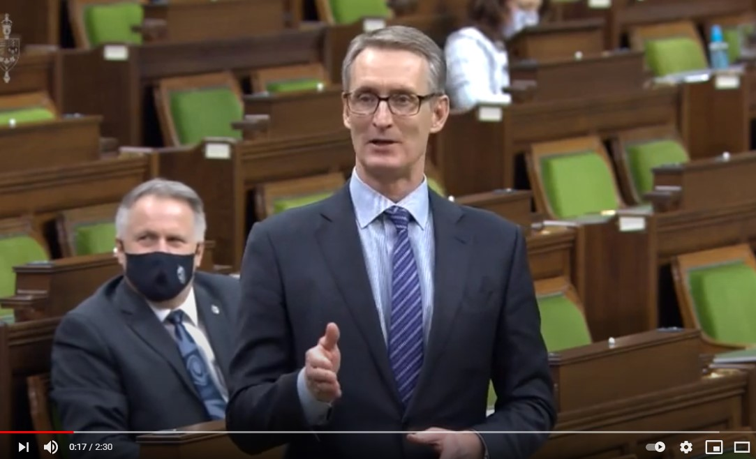 In Parliament Feb 4: Drawing Attention to Line 3 Pipeline Upgrade at Risk