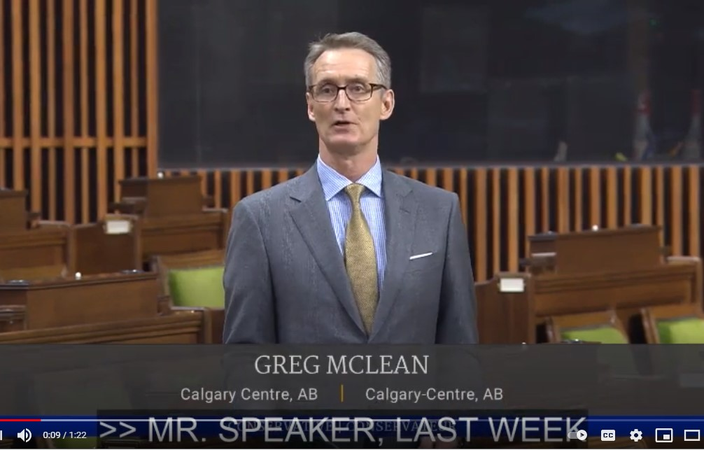 In Parliament: Asking the PM About Risky Investment Climate in Canada