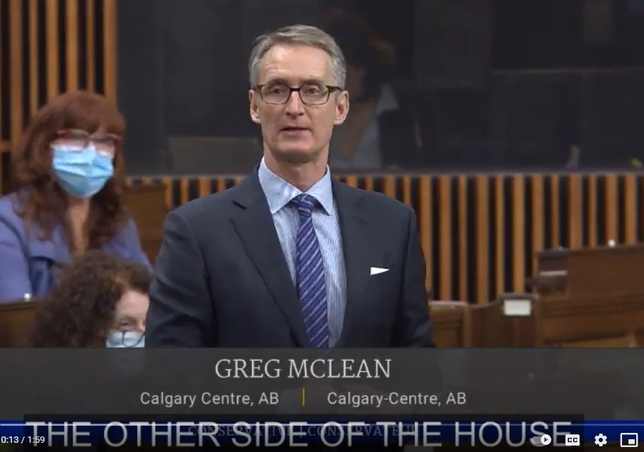 In Parliament: Asking about the YYC Travel Pilot Project