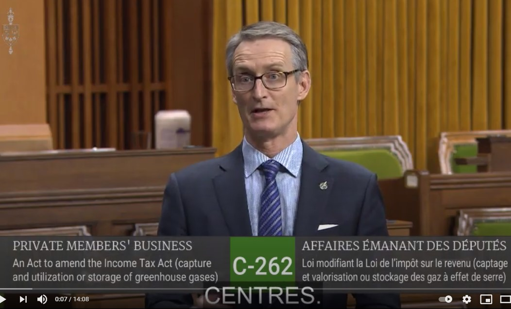In Parliament: Second Reading of My Bill on CCUS