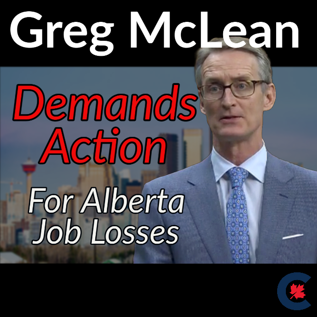 In Parliament: Demanding Action on Jobs for Albertans