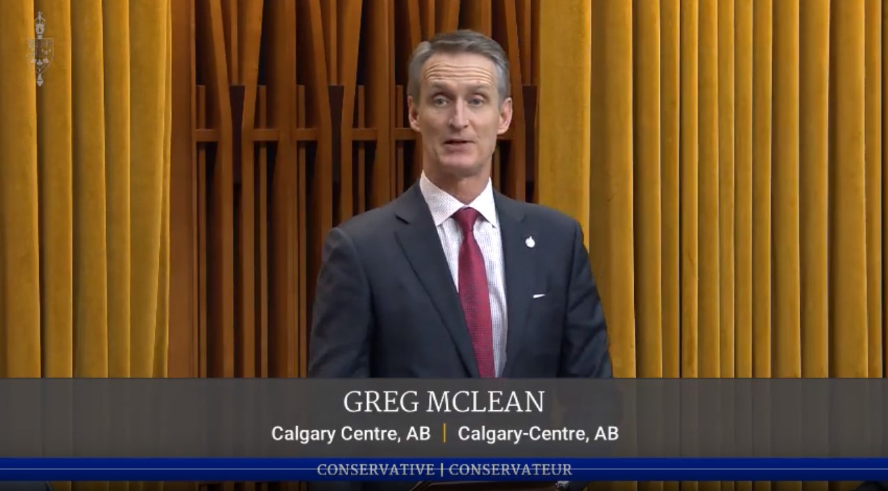 In Parliament: Greg McLean's Maiden Speech