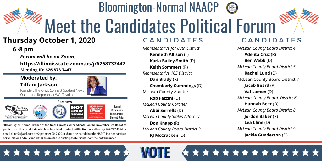 NAACP Candidate Forum