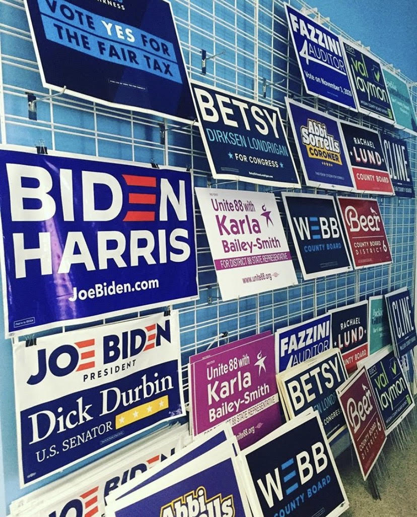 Dems Yard Signs