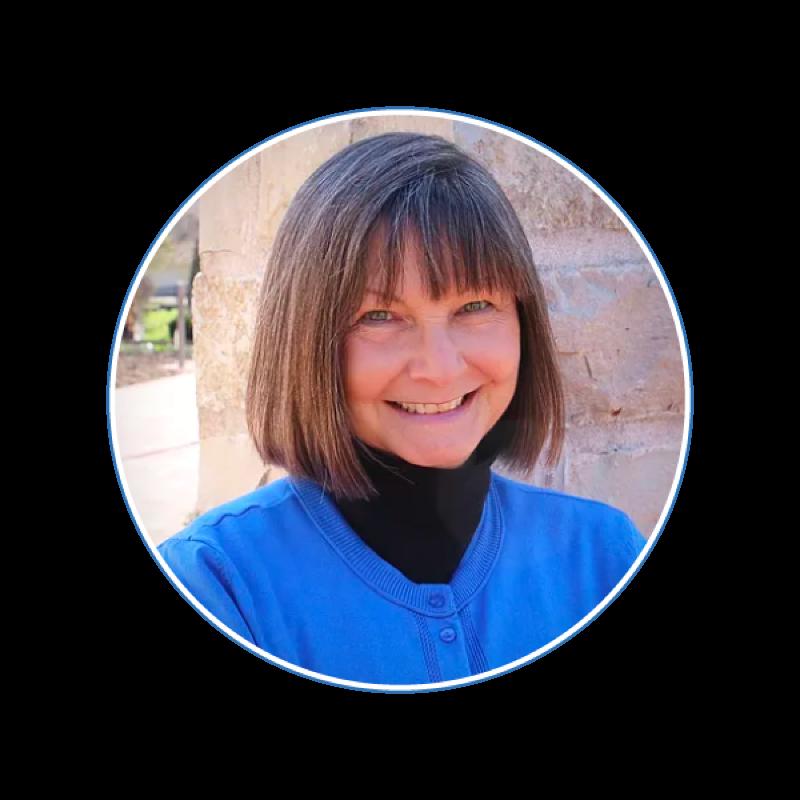 Photo of McLean County Democrats Party Secretary Kay Moss