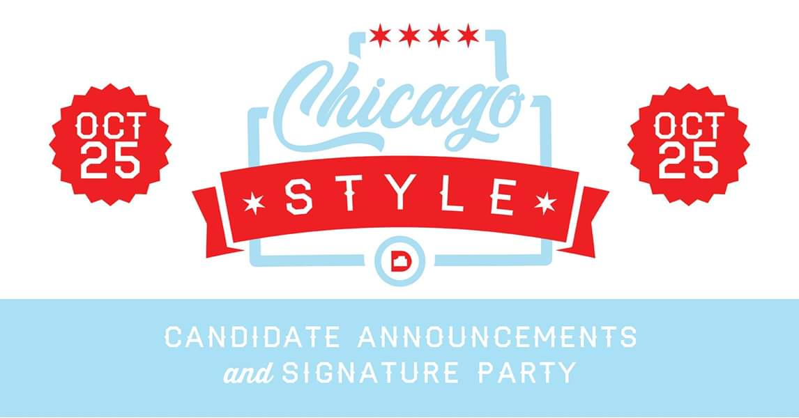 Candidate Announcement Party Oct 25 5 PM HQ
