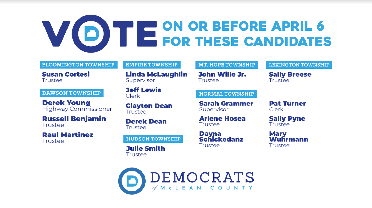 Vote for these candidates on or before April 6