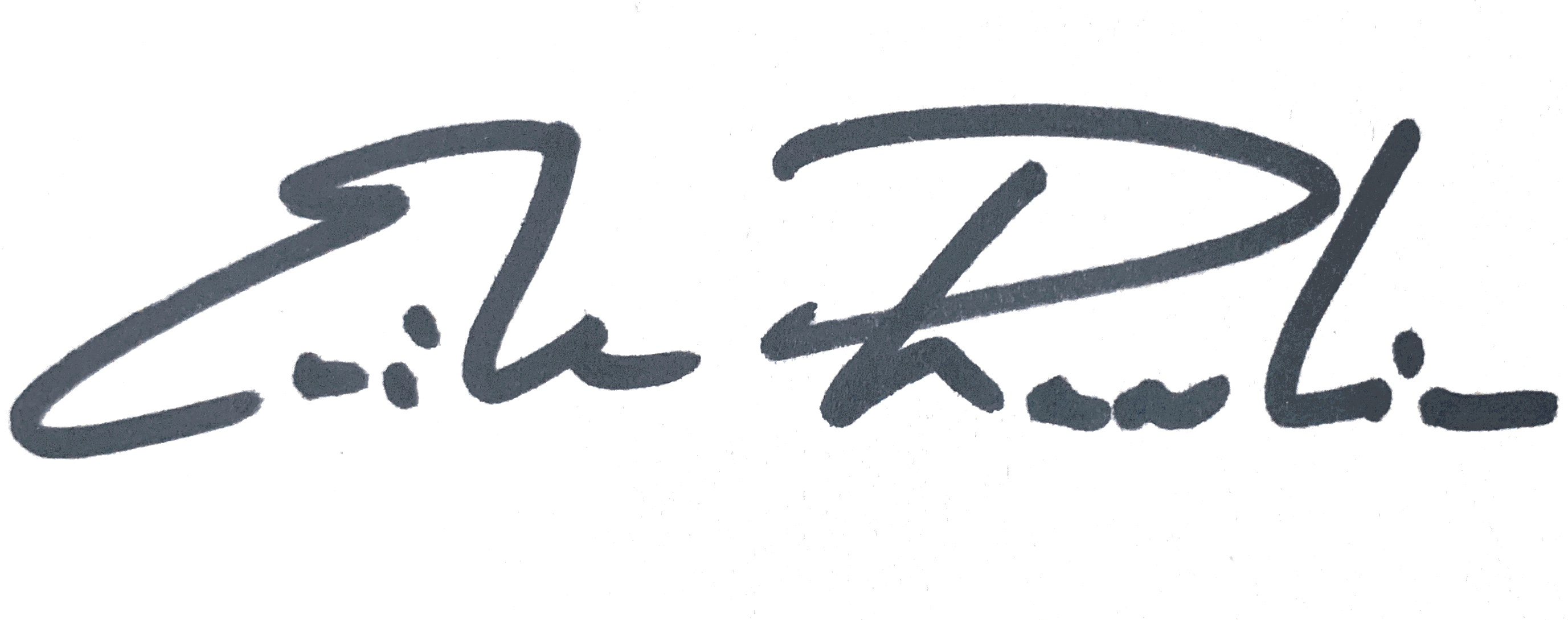 Erik Rankin signature