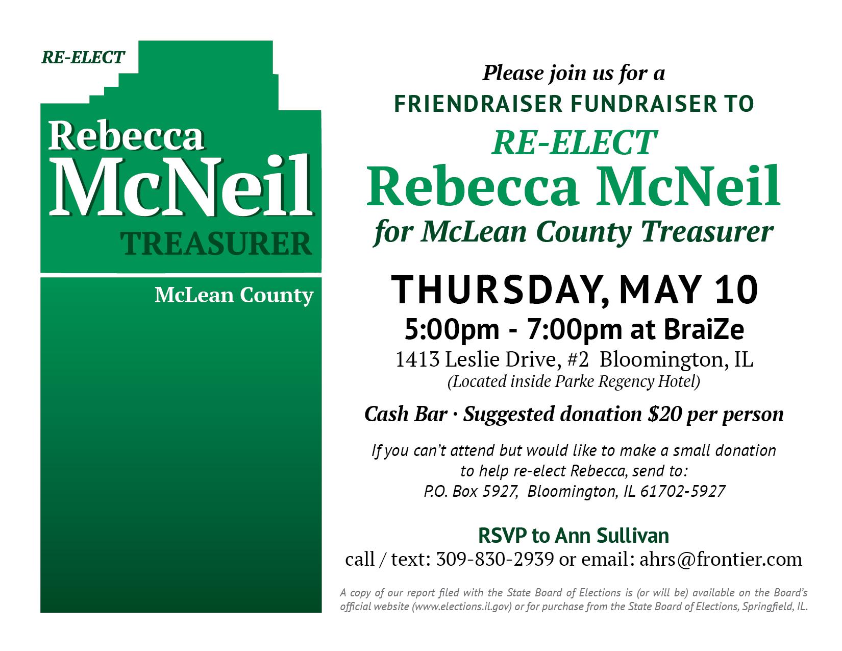 McNeil Fundraising Event