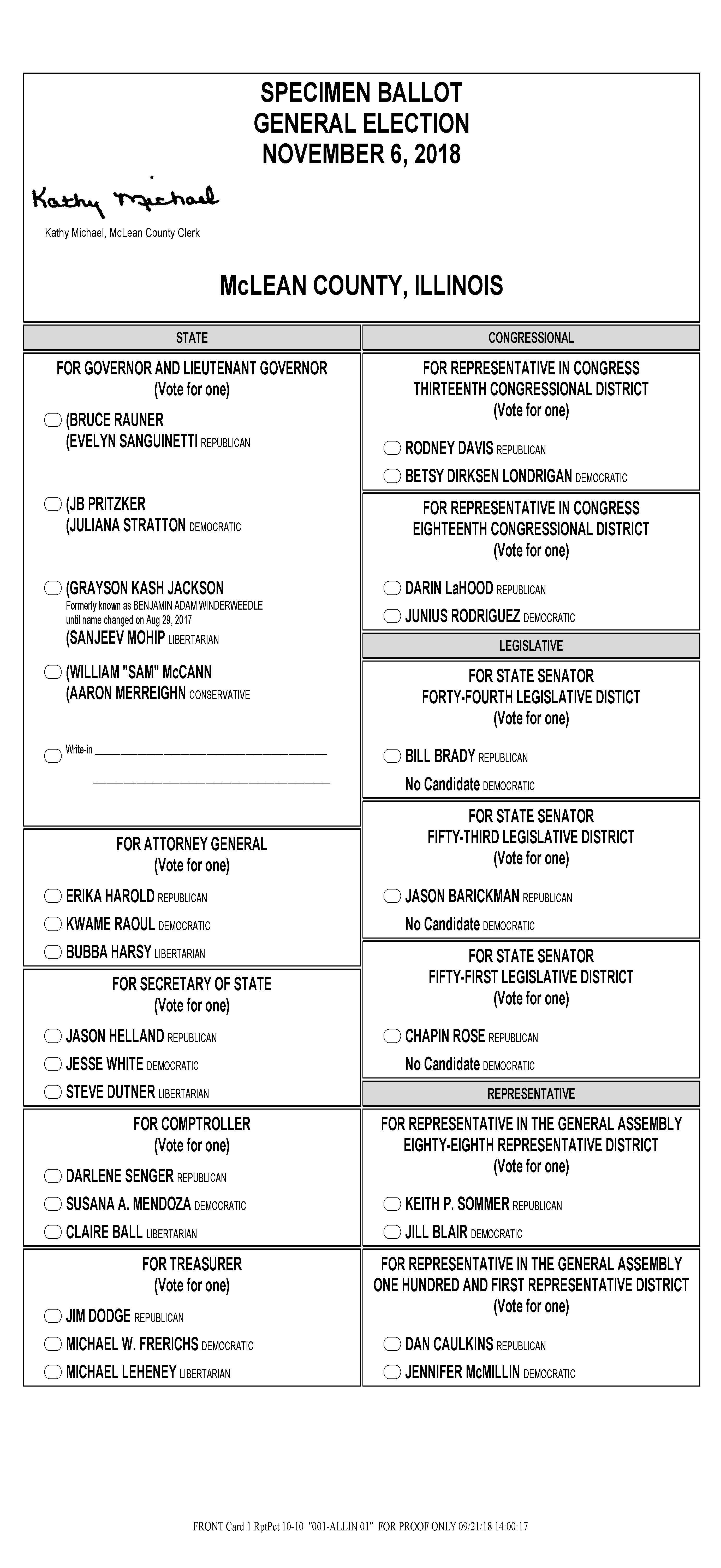 Election day arrives: polls open until 7 p. M. | wglt.