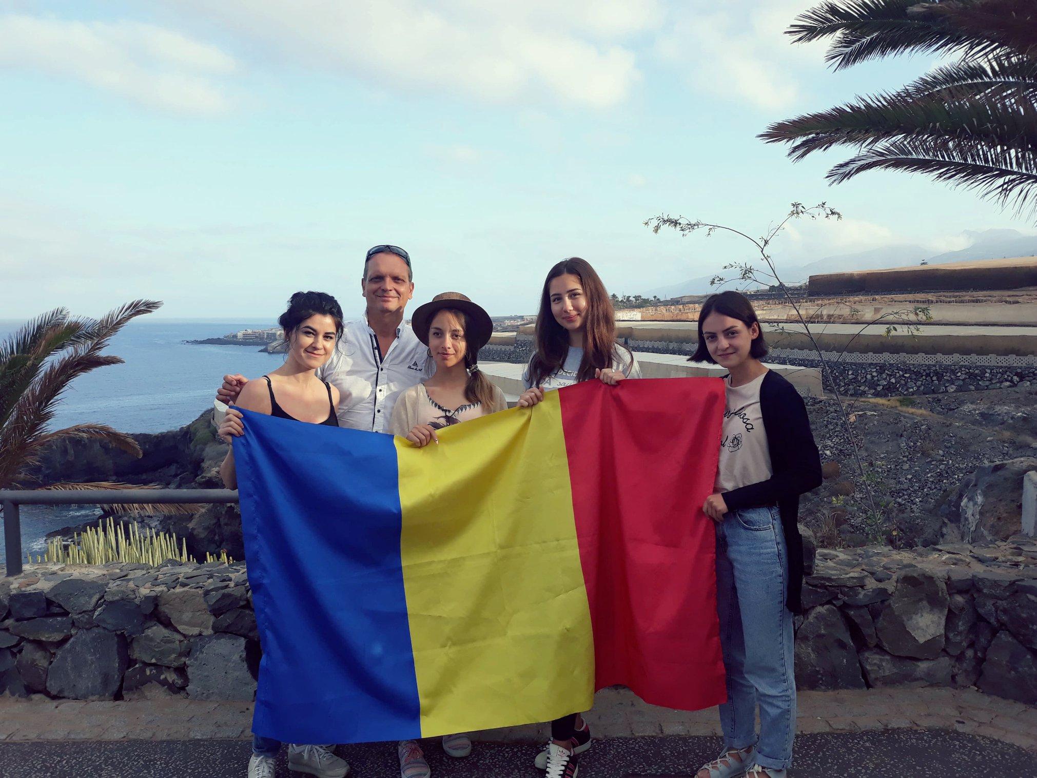 Câștigătoarele primului concurs pentru Tenerife